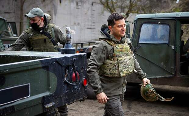 Война за Донбасс еще не началась, а «волки» в Киеве на глазах становятся «кроликами»