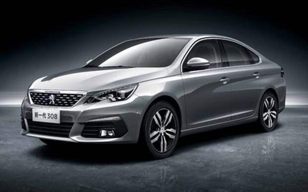 Peugeot 308 седан – «голубой стимулятор» метит в бестселлеры