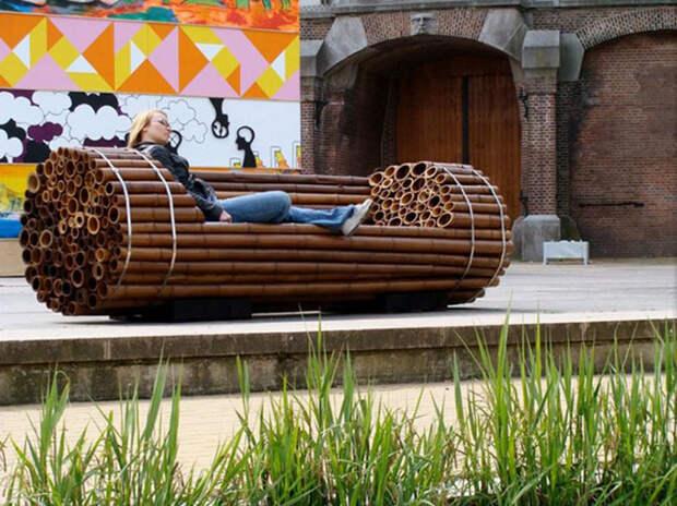 16 самых клёвых скамеек мира