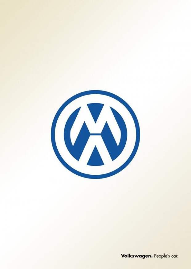 """Российское агенство перевернуло значок Volkswagen: """"Машины - людям!"""""""