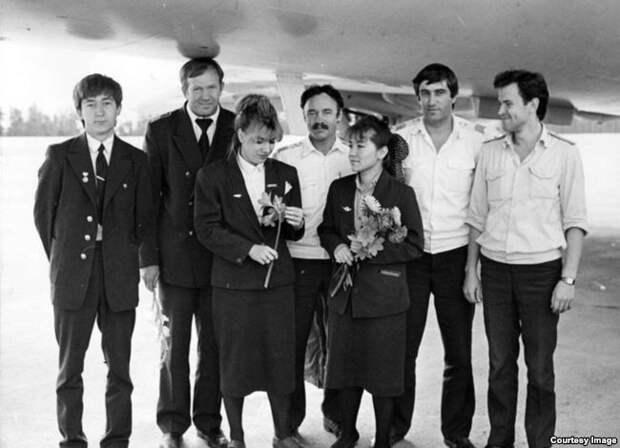 Экипаж рейса 4076 Нерюнгри – Якутск, 1990 год