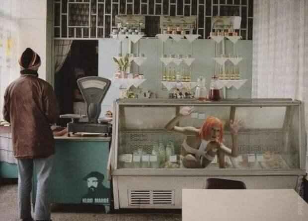Коллажи из советских и зарубежных фильмов