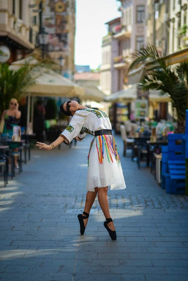 Румынская балерина