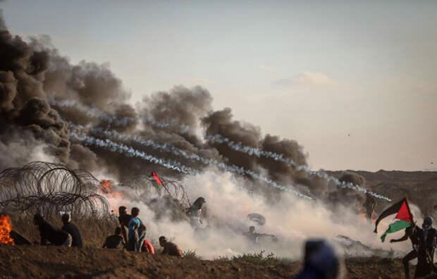 Палестинское антиизраильское выступление «Великий марш возвращения»