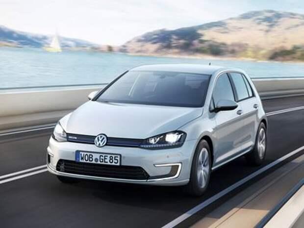 Volkswagen e-Golf готовится к обновлению