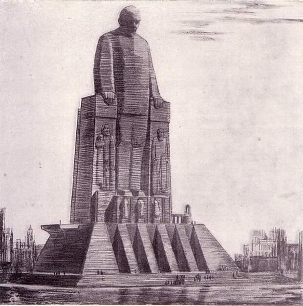 """Проекты маяка """"Ленин"""", которые могли бы стоять в Ленинградском торговом порту."""
