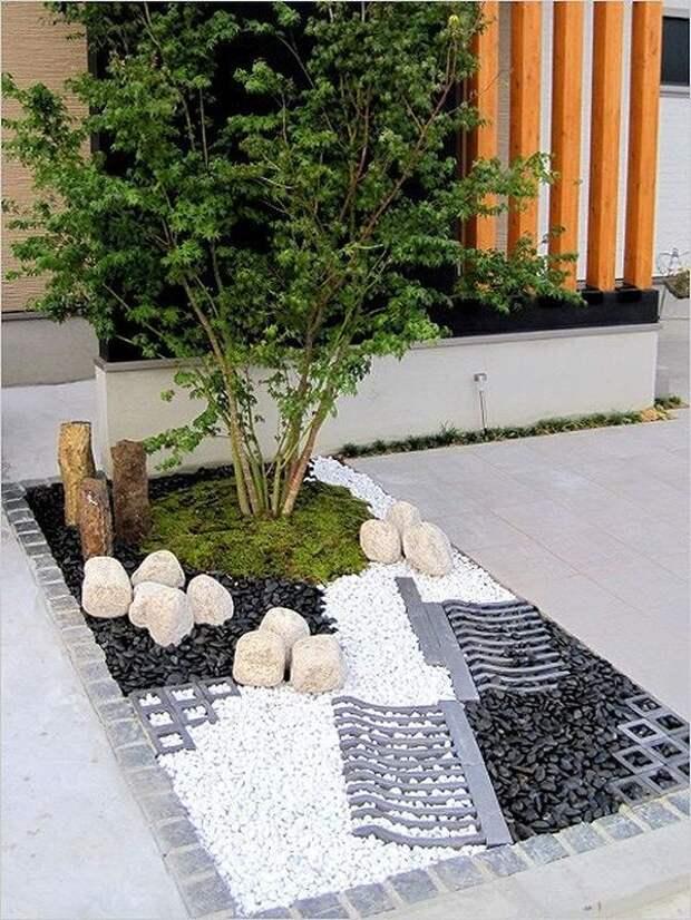 идеи дизайна двора своими руками