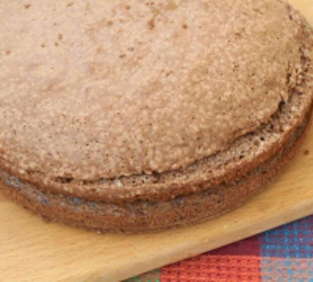 Вишнёвый торт с двумя видами крема