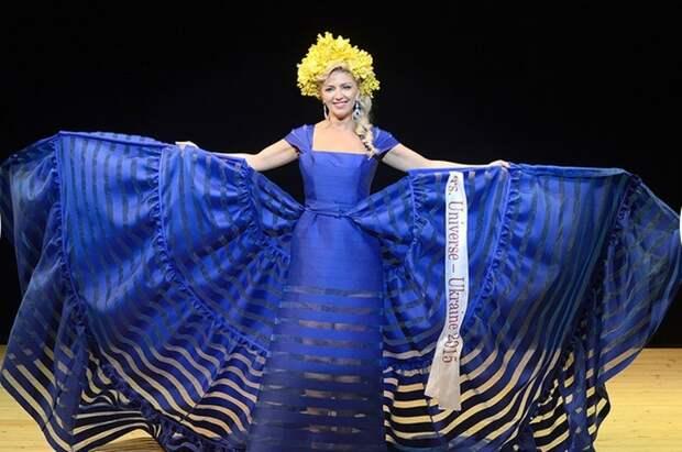 Участница из Украины Ирина Зайцева.