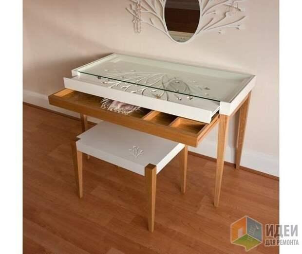 Идеи хранения украшений, стол Eden Furniture