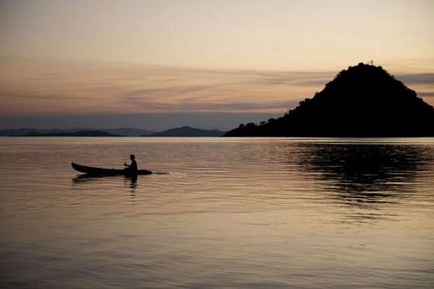 Острова Тогиан, Индонезия.