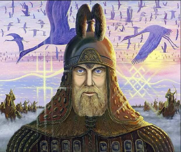 Древний рус (фантазия художника)