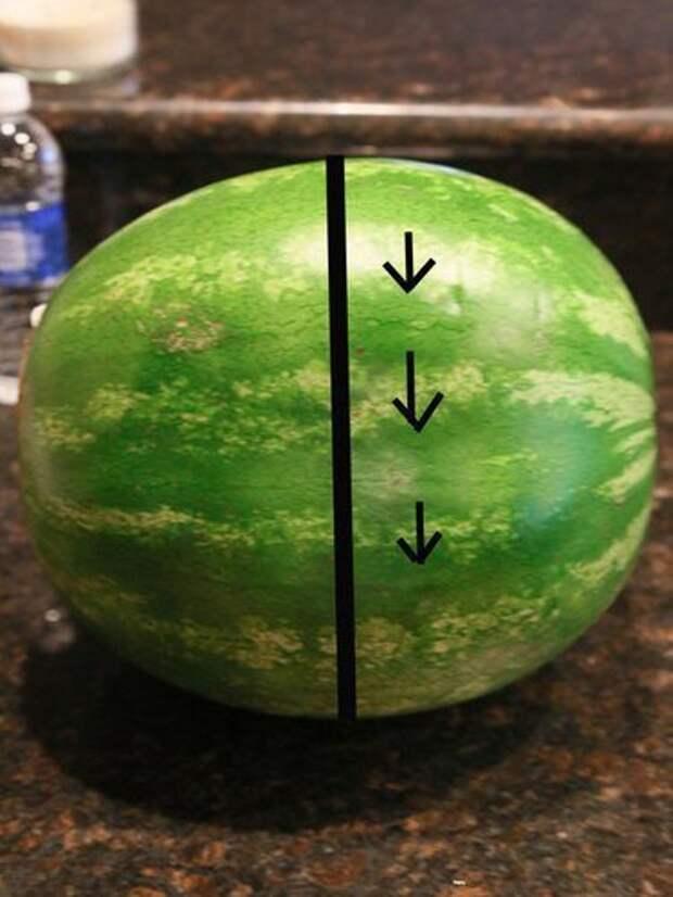 Гениальный способн нарезать арбуз!
