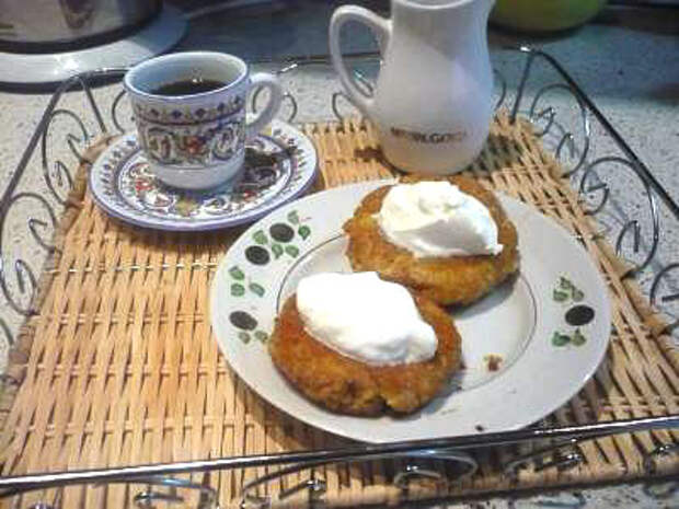 Чвиштари (лепешки из мамалыги и сыра). Фото-рецепт