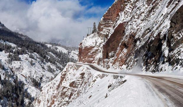 Шоссе Миллион доларов, Колорадо дорога, путешествие, трасса