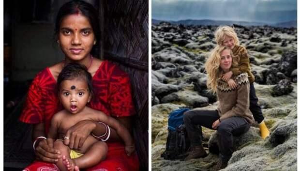 Сердце мамы: Красота материнства на снимках Михаэлы Норок