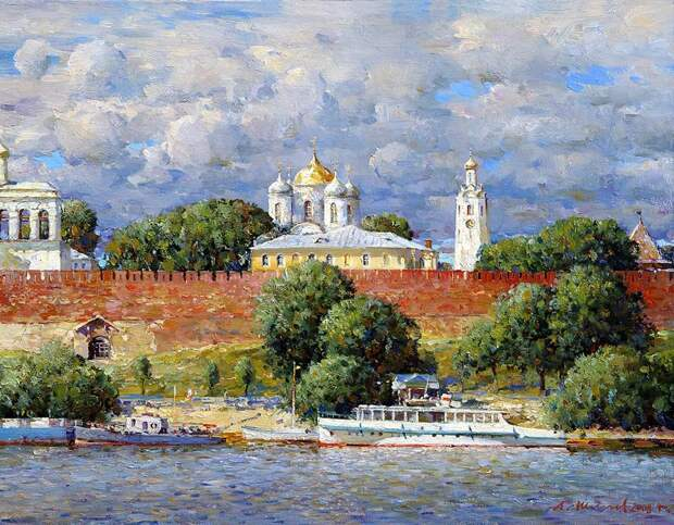 Художник от Бога - Александр Шевелёв