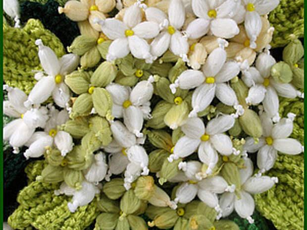 Цветы из пряжи.   Ярмарка Мастеров - ручная работа, handmade