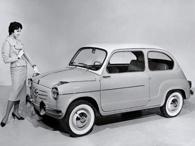 "Дедушка ""Запорожца"" - Fiat 600 fiat, Запорожц, заз"