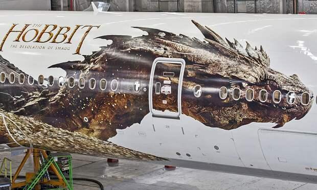 Самолет-дракон отвезет в Средиземье