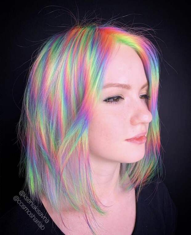 Все цвета радуги!