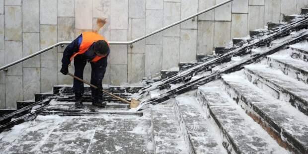 Проблему скользких лестниц в доме на Енисейской решили – управа