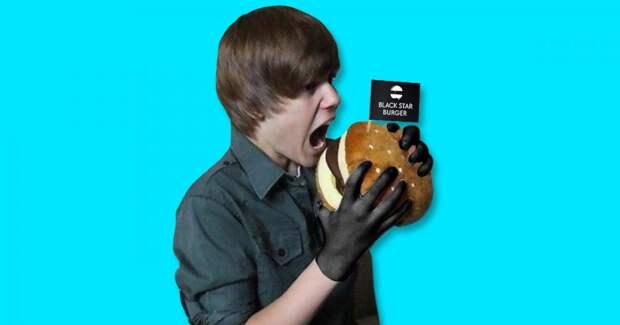 Джастин Бибер пришел на открытие «Black Star Burger». Тимати счастлив