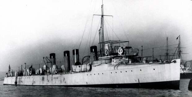 Истребитель «Касуми». Построен в Англии. Один из участников боя 26 февраля 1904 г. Источник: armyman.info