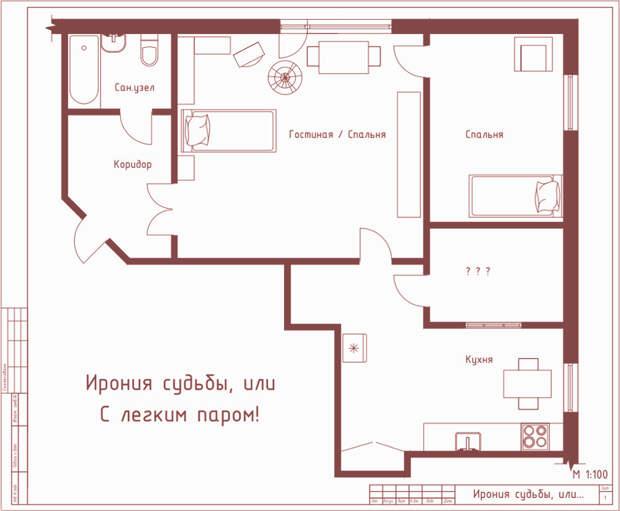 Киноквартиры: планы и интерьеры интерьер, квартира, кино, фильм