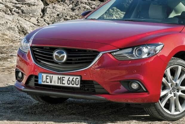 Дорестайлинговая Mazda6