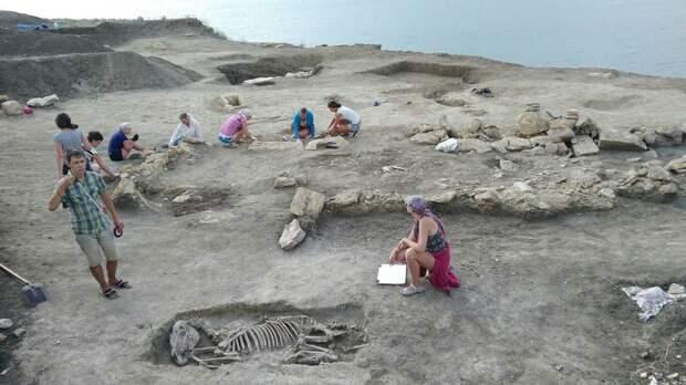 ВКрыму нашли скелет младенцаII века свытянутым черепом