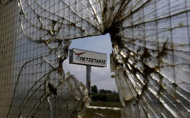 Заброшенные заводы Греции