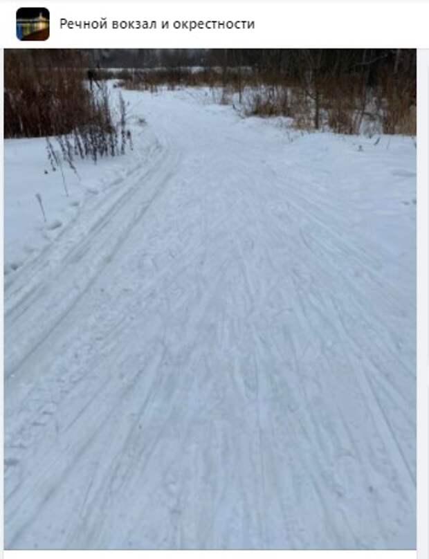 Лыжная трасса за «Умкой» стала «яблоком раздора» спортсменов и пешеходов