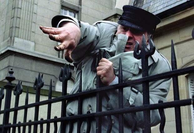 Жириновский в Страсбурге, 11 апреля 1994 года