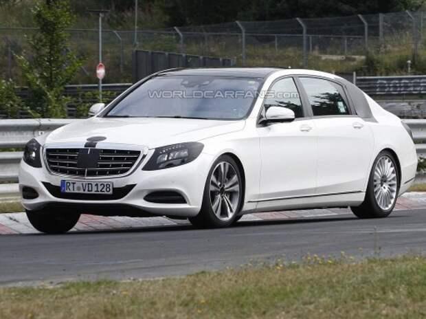 Maybach-версия сверхуспешного Mercedes-Benz S дебютирует в ноябре