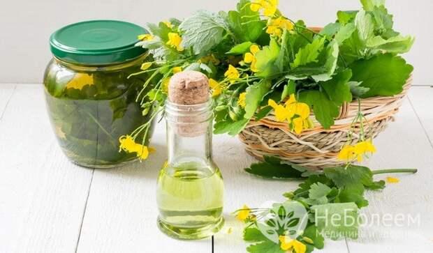 Лекарственные средства из чистотела: приготовление в домаших условиях