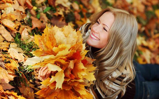 Фотосессия осенью