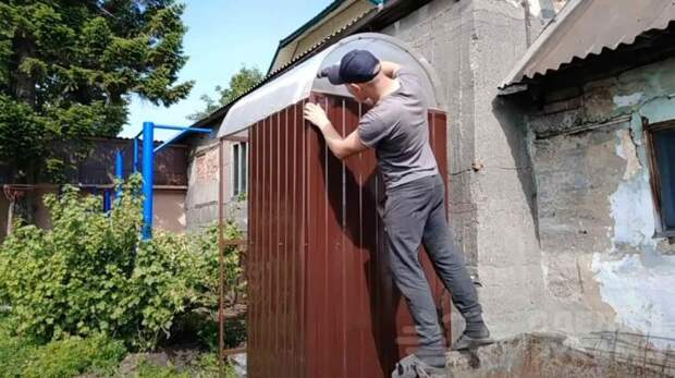 Как сделать летний душ из доступных материалов