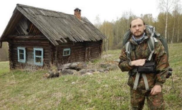 Дом отшельника в тайге: кладоискатель вышел к избушке ночью