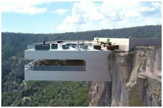 Дом на краю мира, или жилье для тех, кто не боится высоты