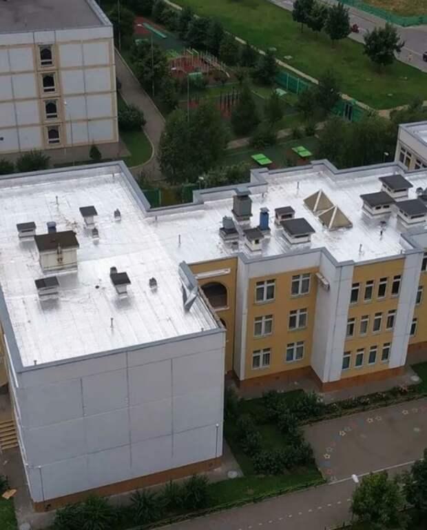 На Челобитьевском отремонтировали кровлю дошкольного учреждения