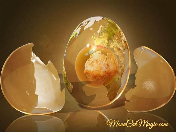 Выкатывание болезни и порчи яйцом. Техника выкатывания
