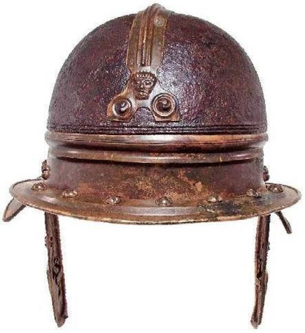 Восточный кельтский шлем обнаруженный в реке Сава
