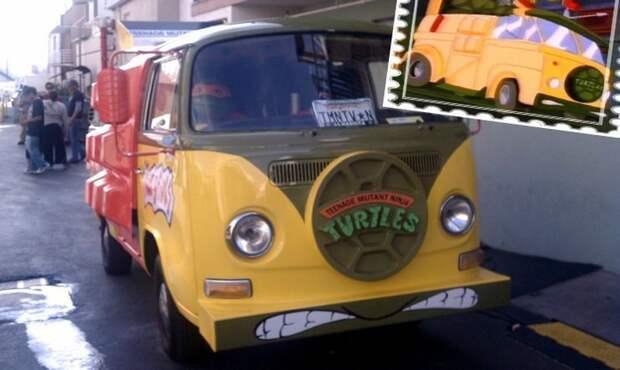 Автомобили, созданные по мотивам мультфильмов интересные автомобили, мультфильм, мультфильмы, странные автомобили