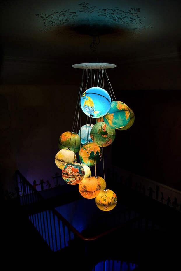 diylamps35 21 идея изготовления светильников и люстр из повседневных предметов