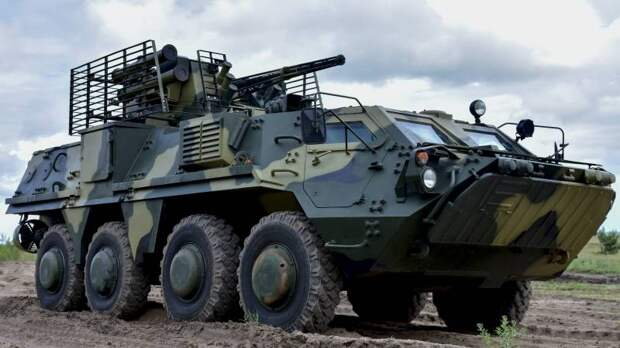 Украинский взгляд на современные бронетранспортёры. Семейство БТР-4