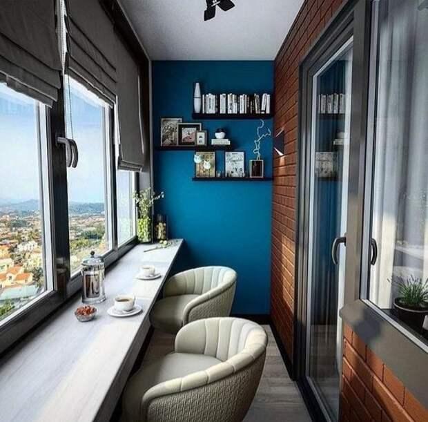 Красивый балкон и красивая лоджия. Идеи для творческого вдохновения))