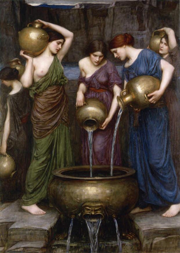 Данаиды — Джон Уильям Уотерхаус, 1903