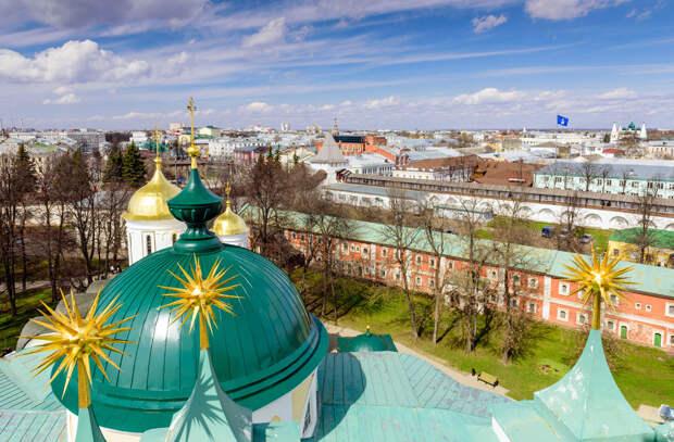 Русские церкви: невероятные виды сверху