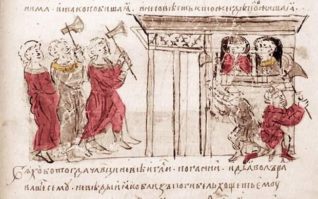 Турова божница в Киеве и варяги-мученики
